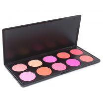 blush rouge make-up palette