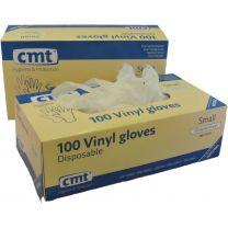 CMT Vinyl Handschoenen Ongepoederd Wit