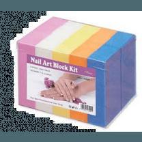 Buffer Blok Set Diverse Kleuren