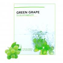 Facial mask groene druiven