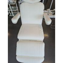 Behandelstoel Pro Luxe Wit Extra Zacht met Memo Functie SHOWMODEL
