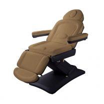 Elektrische Behandelstoel Benefit Taupe met Zwart Onderstel