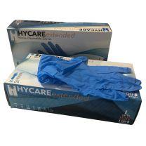 nitril handschoenen lange manchet blauw 100 stuks