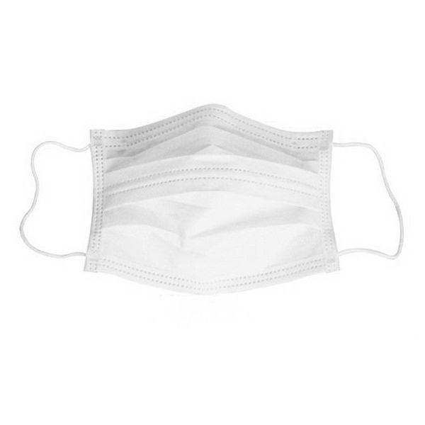 Mondmasker chirurgisch EN14683 type IIR - 50st./doos BFE≥98% wit