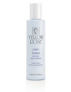 yellow rose lotion azulene