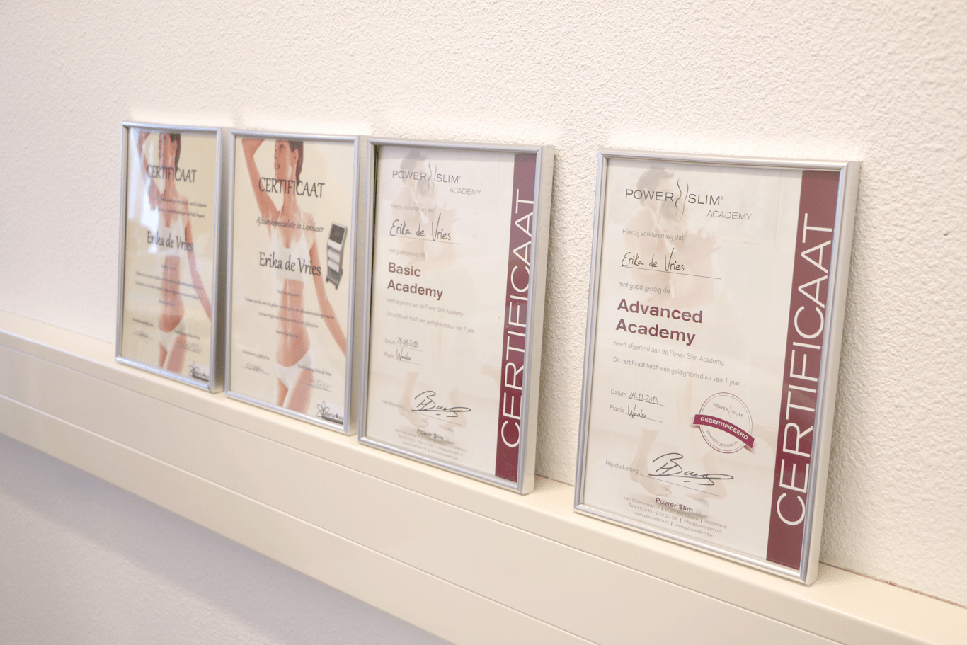 Mooie Certificates